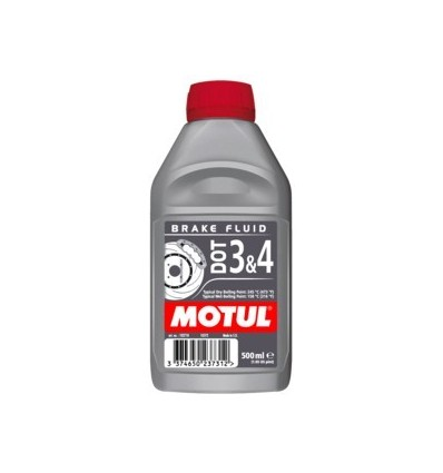 Motul DOT 3&4 BRAKE FLUID 500ml