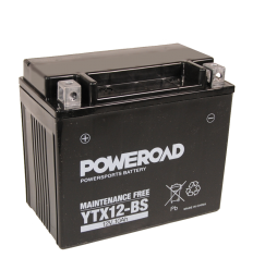 Poweroad YTX12-BS 12V/10A (VE6)