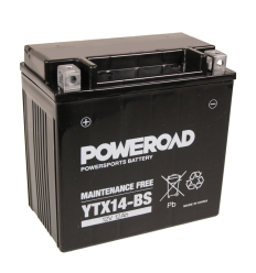 Poweroad YTX14-BS 12V/12A (VE6)