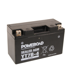 Poweroad YT7B-4 12V/6Ah (VE10)