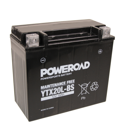 Poweroad YTX20L-BS 12V/18A (VE4)